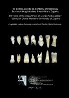 Book about Department of Dental...